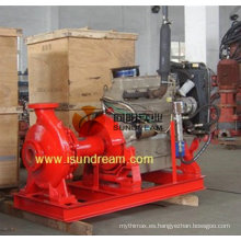 Bomba de superficie impulsada por motor diesel / bomba de superficie de motor diesel