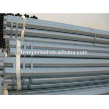 Meilleur prix pipes noires tuyau galvanisé trempé à chaud en Chine