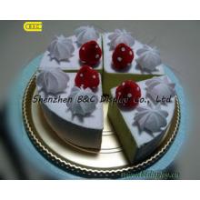 Mode schöne hochwertige Goldfolie Papier gewickelt Kuchen Trommeln (B & C-K040)