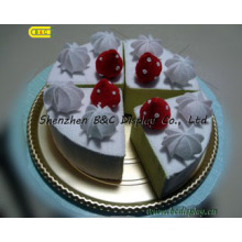 Fashion Beautiful High Quality Gold Foil Paper Wrapped Cake Drums (B&C-K040)