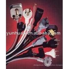 Шнур питания линии с предохранителя медленным ударом 3.15amp кабель провод типа США