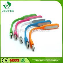 6 LED 220MA резиновый светодиодный свет работы мини USB светодиодный