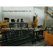 2m-4m Width Full Automatic Double Wire Chain Link Fence Making Machine