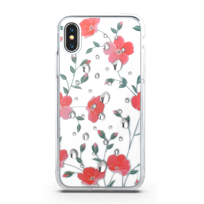 3D Frower Iphone x Cover Case