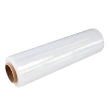 Clear PE stretch film  LLDPE  packaging wrap  film roll  transparent shrink film roll