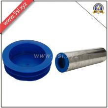 Botella plástica del tubo del enchufe del extremo del tubo del fabricante de China (YZF-H101)