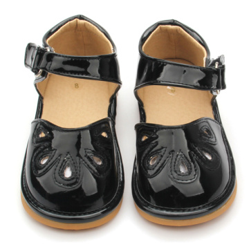 Оптовые продажи Unisex Hard Sole Baby Squeaky Shoes