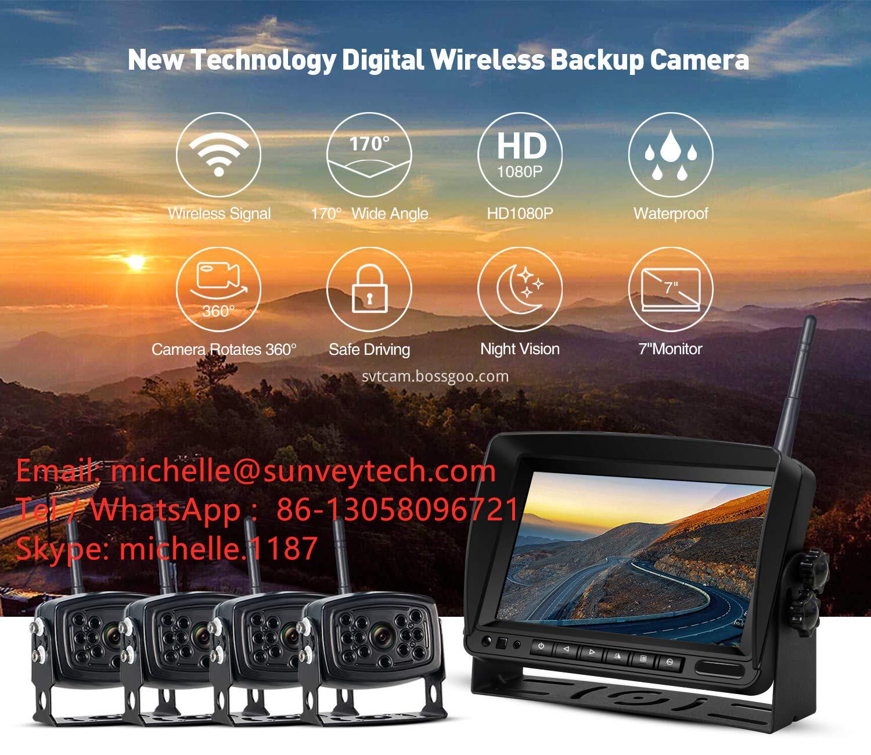 Sunveytech Wireless Backup Camera and Monitors