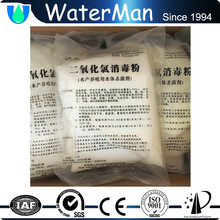 chlorine dioxide powder in aquaculture water purification
