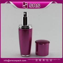 Hot sale SRS arcylic pump 15ml 30ml 50ml 80ml 120ml plastic bottle for shampoo