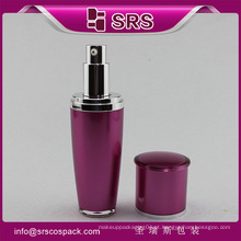 Hot venda SRS arcylic bomba 15ml 30ml 50ml 80ml 120ml garrafa de plástico para xampu