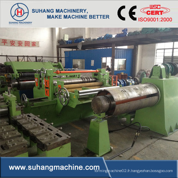 Machine à découper en acier