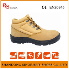 Poland Chemical Resistant Steel Toe Workman′s Safety Shoes