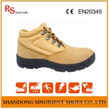 Sapatas de segurança do trabalhador de aço resistente do dedo do pé de Poland