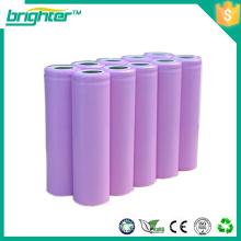 3.7v 18650 batería recargable de litio para bicicletas eléctricas