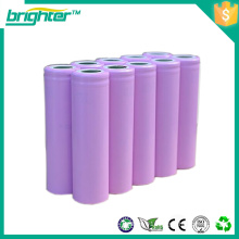 3.6v rechargeable 18650rechargeable battery from china factory