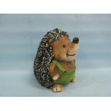 Hedgehog forma de artesanía de cerámica (LOE2537-C17.5)