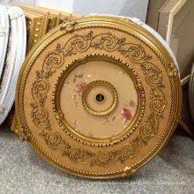 Runde PS Künstlerische Decke Medaillon Dekoration Material Dl-1169-4