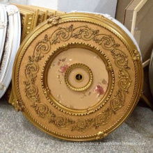 Round PS Artistic Ceiling Medallion Decoration Material Dl-1169-4