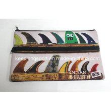 Impresión completa de los colores impermeabilizan la caja de lápiz impermeable del neopreno, caso del neopreno, caja del lápiz