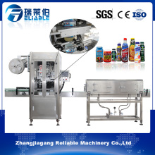 Automatic PVC Shrink Sleeve Labeling Machine for Square/ Flat Bottles