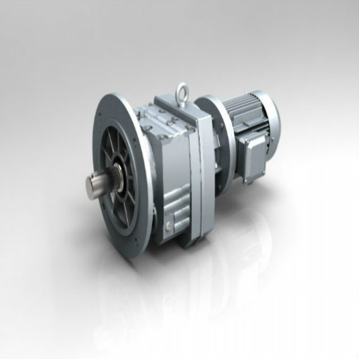 Coaxial+Shaft+Vertical+Helical+Gearbox+With+Input+Flange