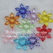 Autumn 46MM Acrylic Blossom Beads