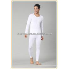 Jacquard tejidos hombres sin costura de largo johns, pijamas hombres ropa interior de largo johns