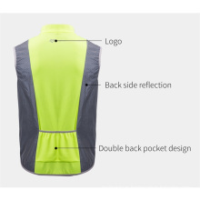Cycling Bike Bicycle Reflective Vest Running Safety Cycling Suit Sleeveless Breathable Vest Night Vest Coat
