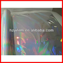 Holográfica arco iris película sin costuras