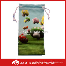 full color printing soft microfiber phone cleaning packaging pouch