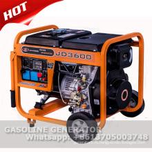3 кВА портативный дизельный генератор с электростартером