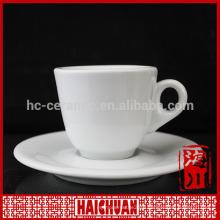 HCC tea cup and saucer , handmade ceramic tea cup and saucer
