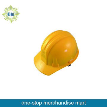 Yellow color abs safety helmet
