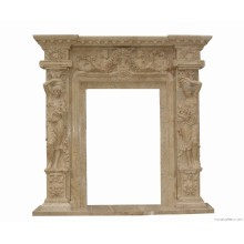 Natural Stone Carved Door Surroundings