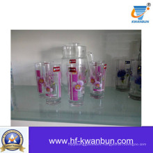 High Quality Glass Jug Tableware Decoration Set Kb-Jh06109