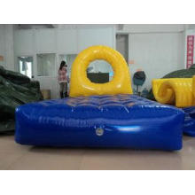 Large PVC Inflatable Tower Water Toys for Adults , Water Tr