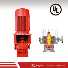 Pompe à eau de lutte contre l'incendie verticale (UL / FM)
