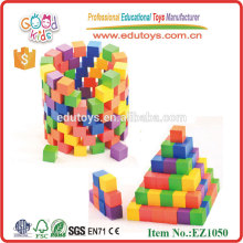 100pcs Kids Wooden Construction Toys for Kindergarten