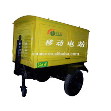 trailer type 550A welding generator