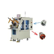 Máquina automática de inserción de bobinas de bobina del estator del motor de ventilador
