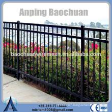 Baochuan fabulous eco-friendly and stocked steel fence/wrought iron/aluminum fence