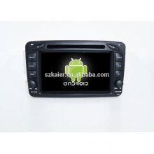 Quad core!car dvd with mirror link/DVR/TPMS/OBD2 for 7inch touch screen quad core 4.4 Android system W209