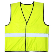Promotional Safety Vest in 100%Polyester Knitting Fabric