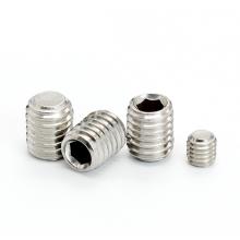 Manufacurer Stainless steel carbon steel socket set screw / tip screw DIN914