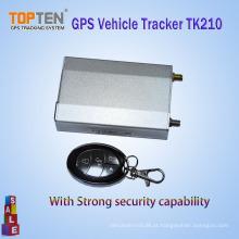 Rastreador de veículo anti-roubo GSM / GPRS / GPS sem fio Tk210 Gestão de frota e segurança (WL)