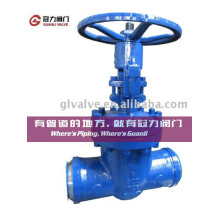 Wcb Flange or Weld Connection Gate Valve