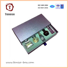 Caja de perfume de papel de cartón personalizado para envases cosméticos