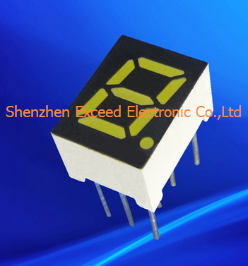 7 Segment Single LED Digital Display