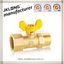 no lead brass gas ball valve MF PN16